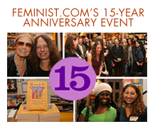 15 year anniversary of feminist.com