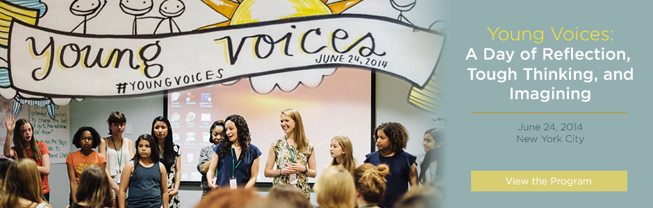 Young Voices Program in June