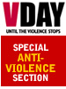v-day anti-violence section