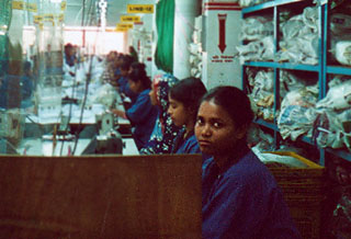 Workers in a factory in Bangladesh. Photo courtesy Nari Uddug Kendra.