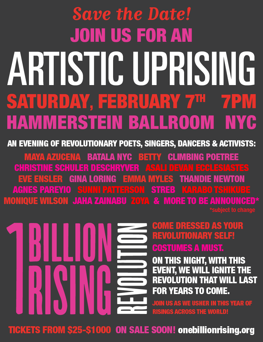 SAVE THE DATE: February 7 in NYC, Join Us For An Artistic